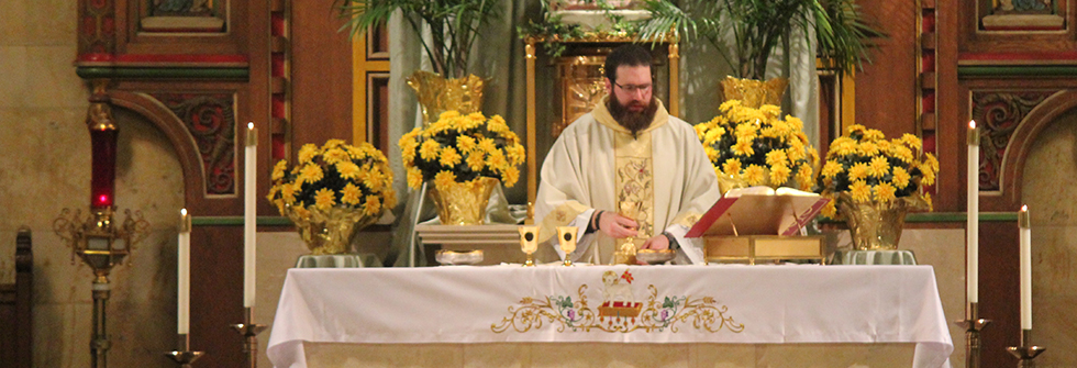 Celebrate Mass With Us