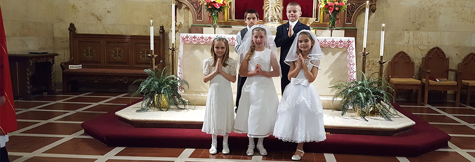 Celebrate Mass with Us